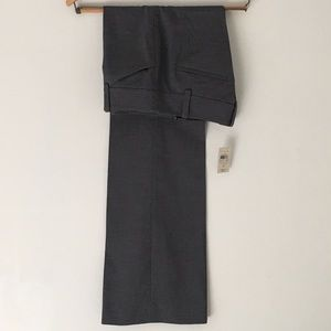 Ann Taylor Modern Trousers Pants Gray Solid